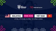 Lịch thi đấu AFF Cup 2018 mới nhất hôm nay 11/12