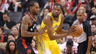 Trực tiếp NBA:  Golden State Warriors vs Toronto Raptors