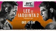 TRỰC TIẾP UFC on FOX 31: Kevin Lee vs. Al Iaquinta 2