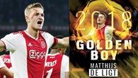 Tin bóng đá ngày 17/12: Sao trẻ của Ajax giành giải Cậu bé vàng, Alexander-Arnold đứng thứ 2