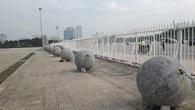 """Tương lai của 40 quả bóng xích ở Mỹ Đình """"lạc trôi"""" về đâu sau khi Tuyển Việt Nam vô địch AFF Cup?"""
