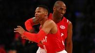Russell Westbrook đùa tếu táo khi biết mình vượt qua Kobe Bryant