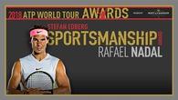 Nadal phá thế độc tôn của Federer để đoạt giải Tinh thần thể thao