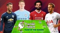 Đội hình tiêu biểu Ngoại hạng 2017/18: Man City, Liverpool độc diễn và cú sốc