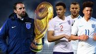 Đội tuyển Anh chính thức công bố danh sách tham dự World Cup