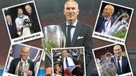 Cùng nhìn lại những kỷ lục có một không hai Zidane lập nên tại Real Madrid