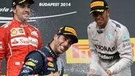 """Ricciardo và """"Bò húc"""" sẽ tạo nên kết thúc kịch tính mùa giải F1 năm nay?"""