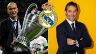 Real Madrid chọn HLV Lopetegui vì có nhiều điểm tương đồng với Zidane