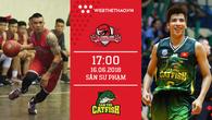 Trực tiếp bóng rổ VBA: Thang Long Warriors - Cantho Catfish