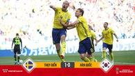 Công nghệ VAR giúp Thụy Điển thắng sát nút Hàn Quốc