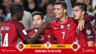 Đóng góp hơn cả một tiền đạo, Ronaldo giúp Bồ Đào Nha thắng to Morocco?