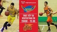 Trực tiếp bóng rổ VBA: Hochiminh City Wings vs Danang Dragons