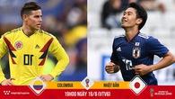 Kagawa không thắng nổi James Rodriguez, Nhật Bản khó đòi nợ trước Colombia