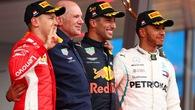Cuộc đua tam mã xô đổ kỷ lục 31 năm trong lịch sử F1