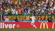Bản tin World Cup: Kết thúc hiệp 1 trận Bồ Đào Nha 1-0 Morocco (Ronaldo 4')