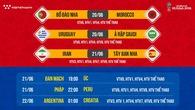Nhận định tỷ lệ cược World Cup 2018 mới nhất ngày 20/06