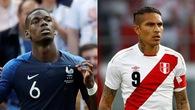 Link xem trực tiếp trận Pháp - Peru ở World Cup 2018