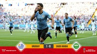 Đánh bại Saudi Arabia, Luis Suarez nhận món quà đặc biệt