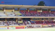 Sân Hàng Đẫy vắng vẻ vì World Cup trong ngày Hà Nội FC đè bẹp SHB.Đà Nẵng