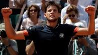 """Roland Garros: Đánh bại """"ngựa ô"""" Cecchinato, Dominic Thiem vào chung kết"""