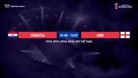 Nhận định tỷ lệ cược kèo nhà cái tài xỉu World Cup 2018 mới nhất hôm nay ngày 11/07