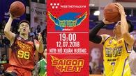 Hochiminh City Wings - Saigon Heat: Chờ đợi City Wings làm nên chuyện