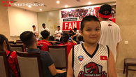 Cậu bé 9 tuổi và tình yêu đặc biệt dành cho Thang Long Warriors