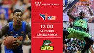Trực tiếp bóng rổ VBA: Hanoi Buffaloes vs Cantho Catfish