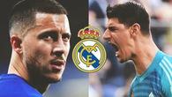 AS tiết lộ Real Madrid chi 1/4 tỷ euro mua Hazard - Courtois!
