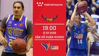 Trực tiếp bóng rổ VBA: HCM City Wings vs Hanoi Buffaloes