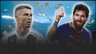 Messi vượt Ronaldo trở thành cầu thủ kiếm tiền số 1 thế giới