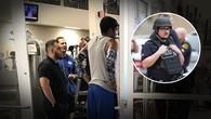 Bị phạm lỗi thô bạo, cầu thủ bóng rổ gọi cảnh sát đến giải quyết