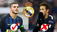 Neymar ở lại PSG, cơ hội lớn để Real giành tiền đạo 100 triệu euro của Inter?