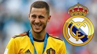 """Eden Hazard sẽ là """"ông hoàng lương bổng"""" khi sang Real Madrid?"""