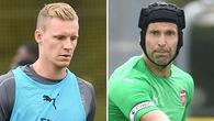 """Thủ môn đắt giá nhất Arsenal mắc sai lầm và sẽ phải dự bị cho """"ông lão"""" Petr Cech?"""