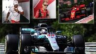 Đua thử Hungarian GP 2018: Hamilton lu mờ trước Vettel và Ricciardo