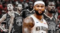 """Chưa mãn nguyện với 4 All-Star, Golden State Warriors """"hốt"""" thêm hàng khủng DeMarcus Cousins với giá không tưởng"""