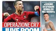 Ronaldo vừa tìm nhà ở Torino, giá cổ phiếu Juventus đã tăng ầm ầm