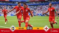 Ghi 2 bàn và giành vé vào bán kết, tuyển Anh vẫn hơn Thụy Điển