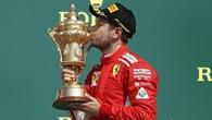 British GP 2018: Sebastian Vettel lên ngôi đầy kịch tính