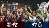 """Barcelona - Real Madrid và cơ hội phân định lại ngôi """"Vua ẵm Cúp"""" ở Siêu Cúp châu Âu?"""