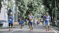 Độc đáo cuộc thi cả nhà chạy tiếp sức Family Ekiden
