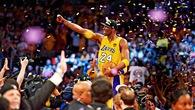 Nhìn lại sự nghiệp lẫy lừng của Kobe Bryant