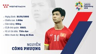 Thông tin tiền đạo Nguyễn Công Phượng cùng U23 Việt Nam chuẩn bị ASIAD 2018