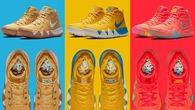 """Bộ sưu tập Nike Kyrie 4 """"Cereal - ngũ cốc"""" của Kyrie Irving và General Mills cực chất"""