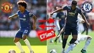 Man Utd hay Chelsea mới là người hưởng lợi nếu trao đổi Martial - Willian?
