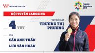 Thông tin đội tuyển Canoeing tham dự ASIAD 2018