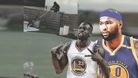Vừa mới đến Golden State Warriors, DeMarcus Cousins đã bắt đàn anh Draymond Green đi làm... lao công