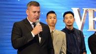 Bất ngờ chuyện HLV Kevin Yurkus cám ơn kình địch Thang Long Warriors khi Cantho Catfish được vinh danh tại VBA Awards 2018