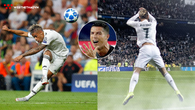 """""""Ronaldo mới"""" thăng hoa với hiệu suất ngoạn mục ở Real trong ngày Ronaldo xịn nhận thẻ đỏ"""